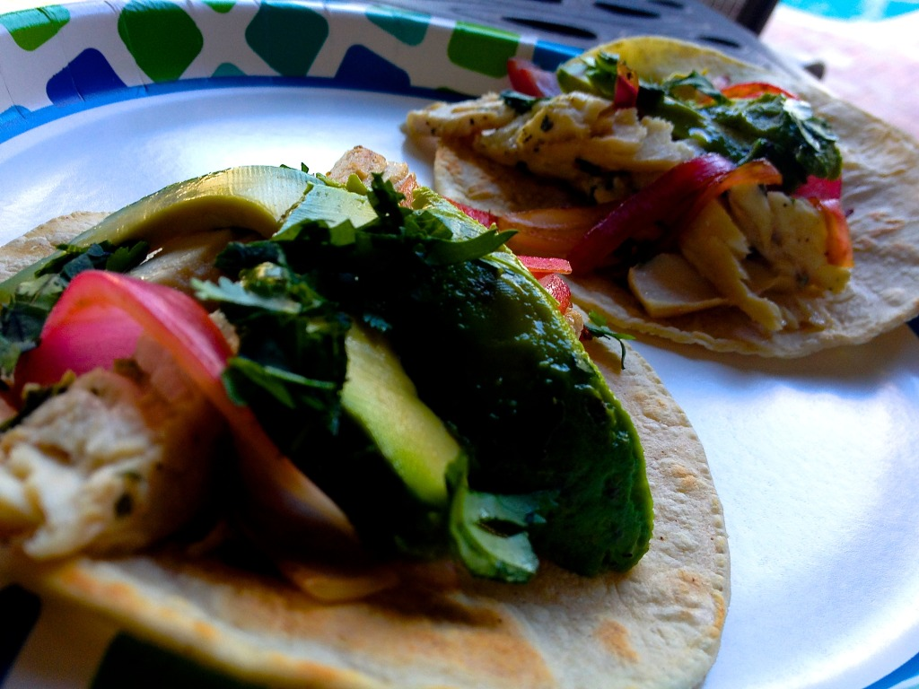 Fast and Fresh Mahi Tacos