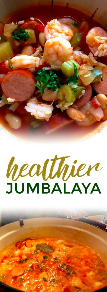 Healthier Jumbalaya