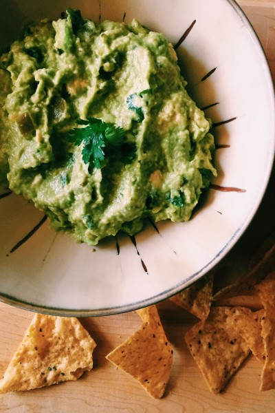 6-Ingredient Guacamole