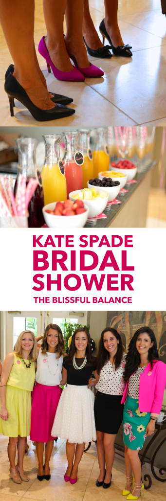 A Kate Spade-Inspired Bridal Shower