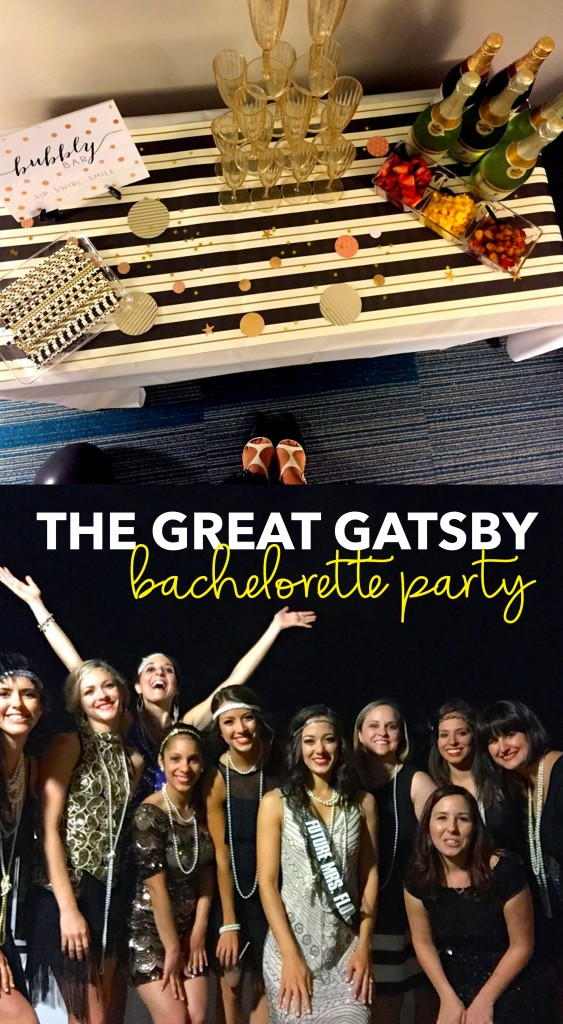 The Great Gatsby Bachelorette Party