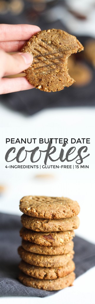 Peanut Butter Date Cookies