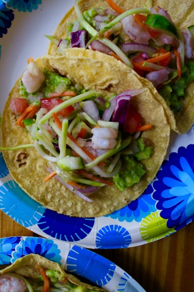 Easy Shrimp Ceviche Tacos