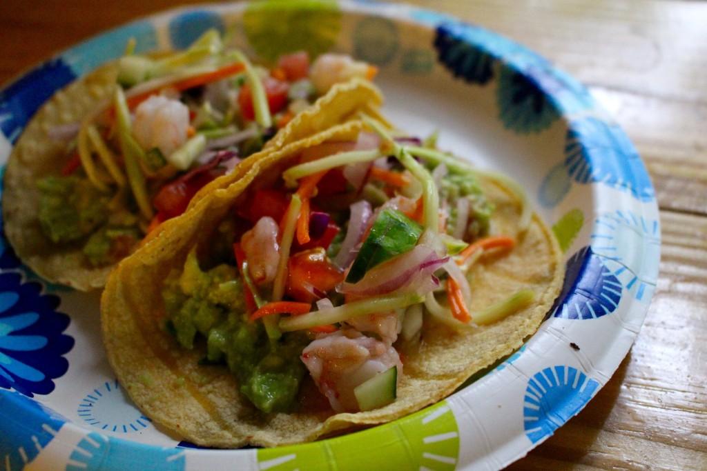Easy Shrimp Ceviche Tacos