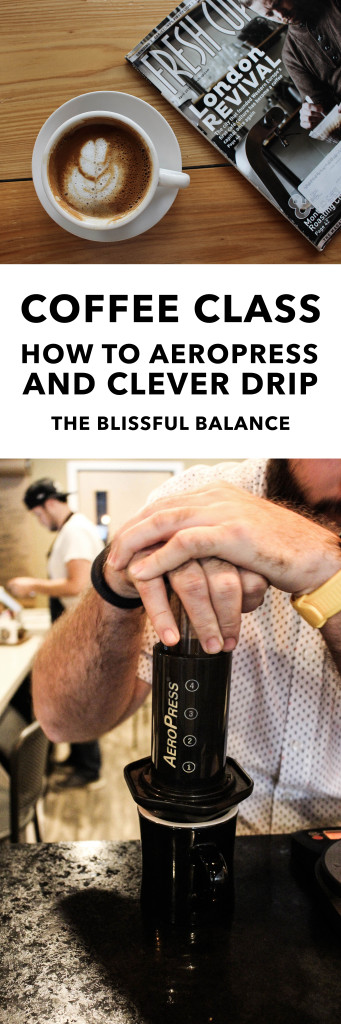How to Aeropress and Clever Drip