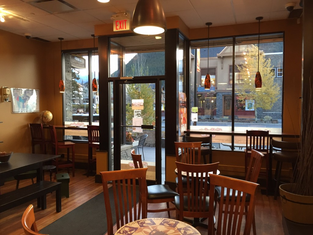 Where to Get Coffee in Banff
