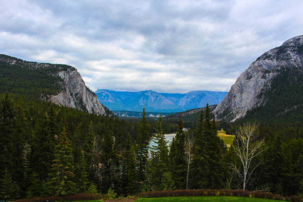 View from the Banff Springs Hotel
