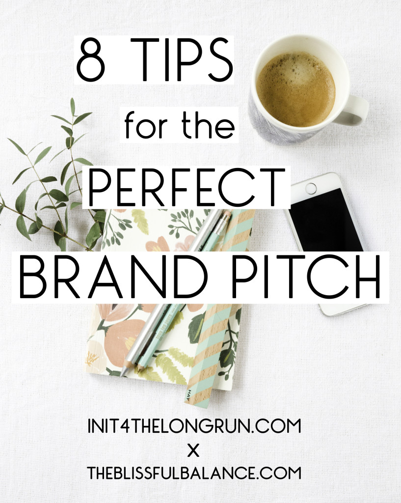 8 Tips for the Perfect Brand Pitch