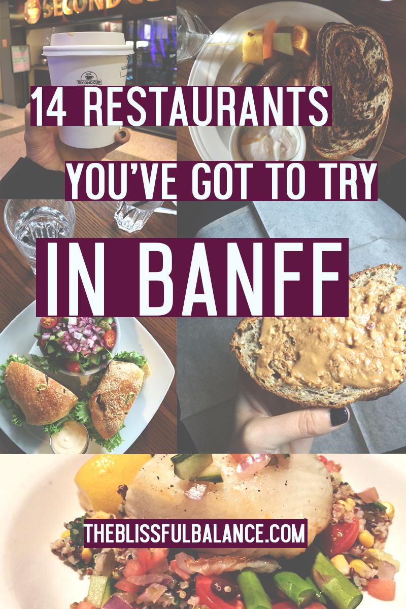 restaurantsinbanff