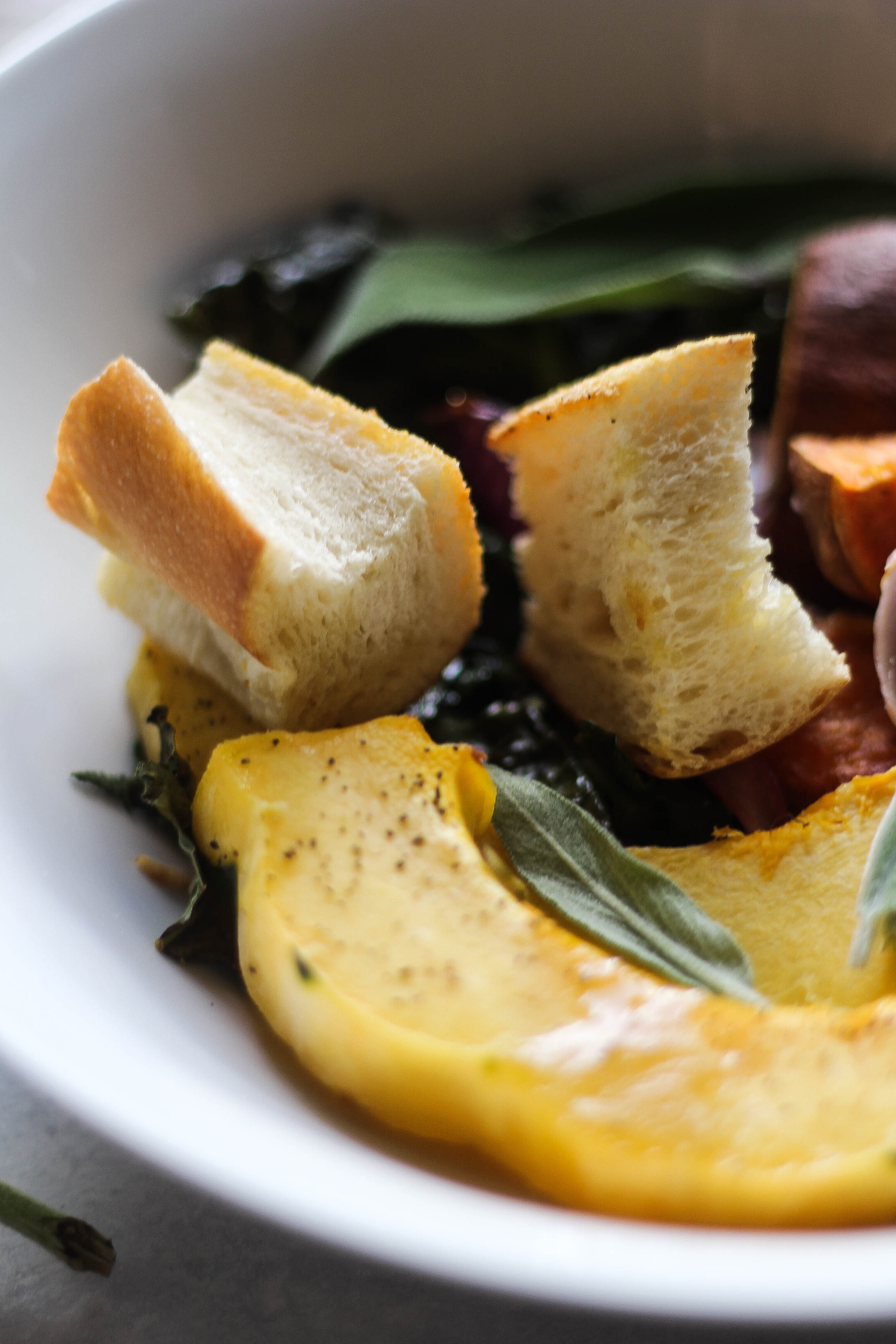 Autumn Panzanella Salad
