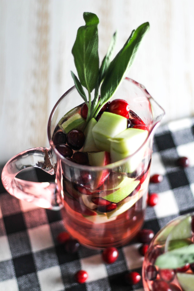 Simple Christmas Sangria
