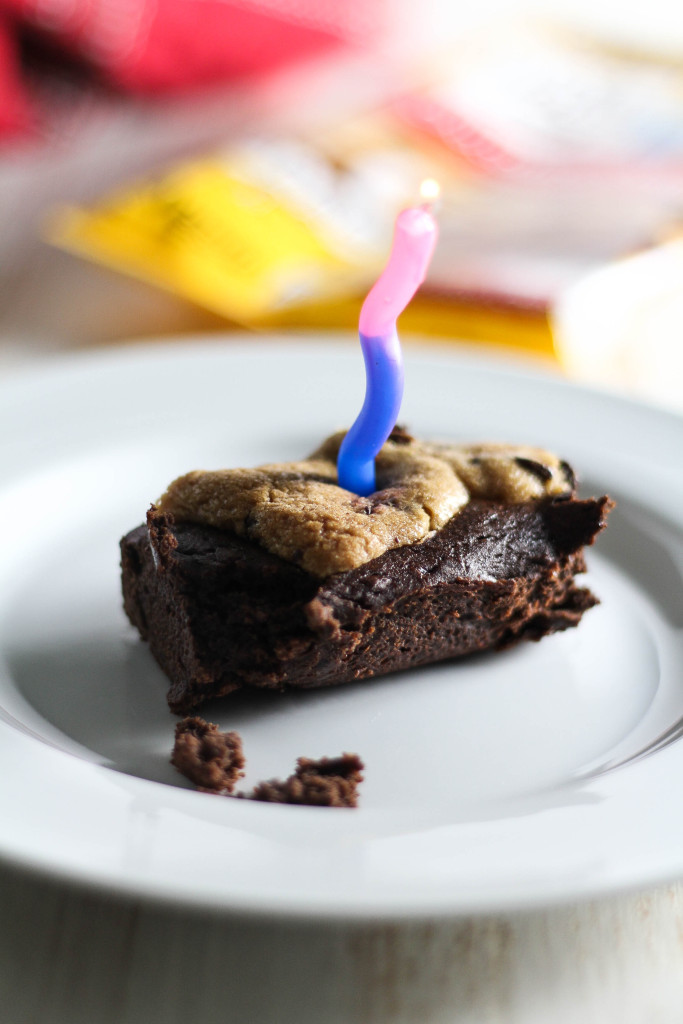 Chocolate Chip Cookie Brownies #ad