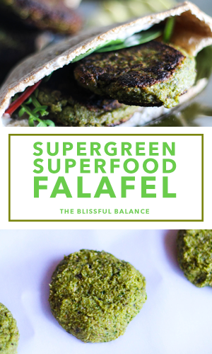 Supergreen Superfood Falafel