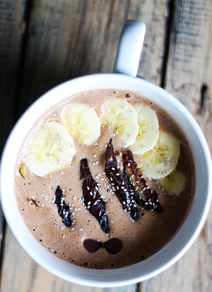 Mocha Frappuccino Protein Smoothie Bowl