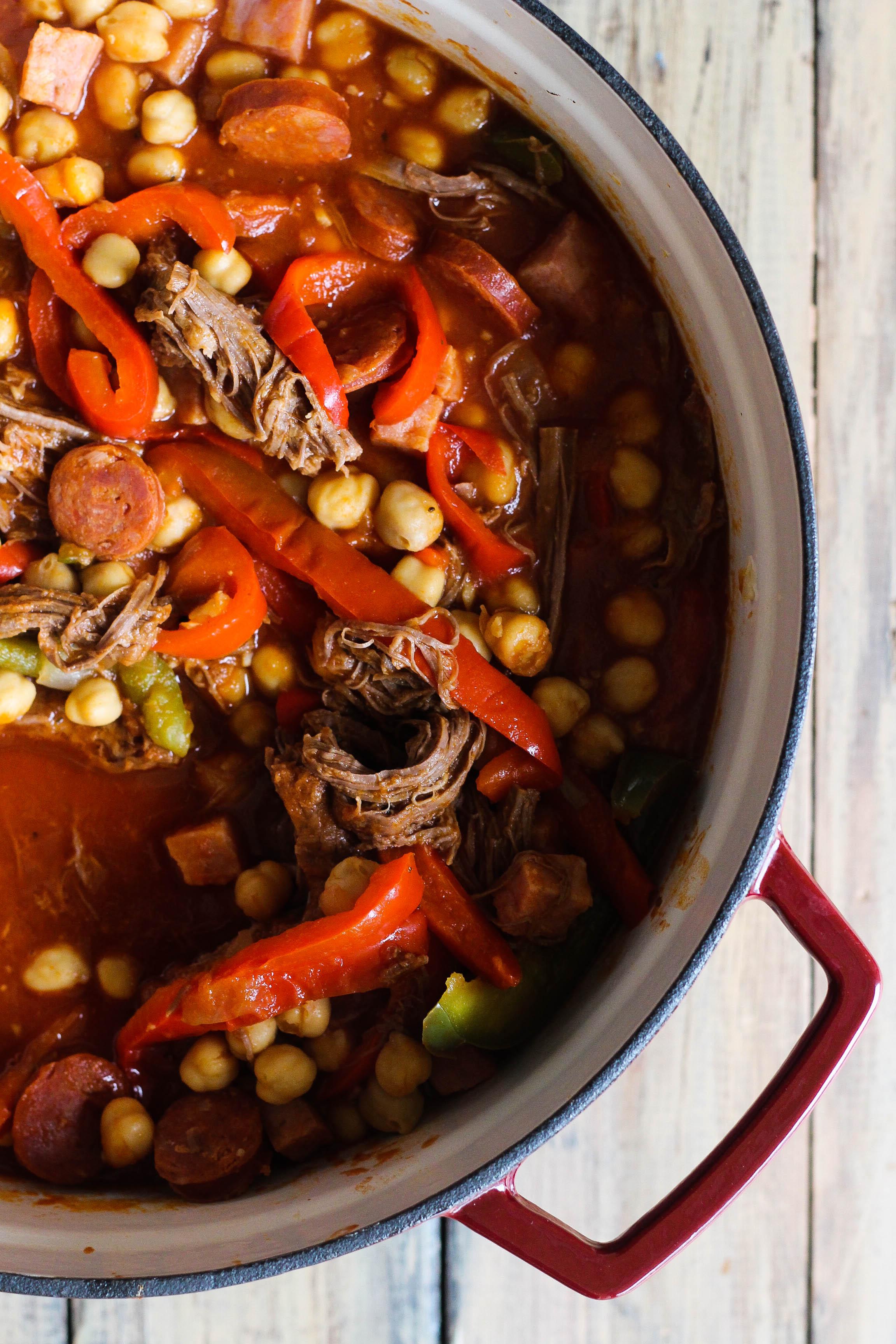 Cuban Garbanzo Stew