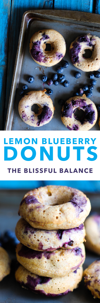 Lemon Blueberry Donuts