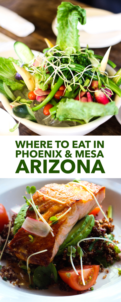 Where to Eat in Phoenix and Mesa Arizona