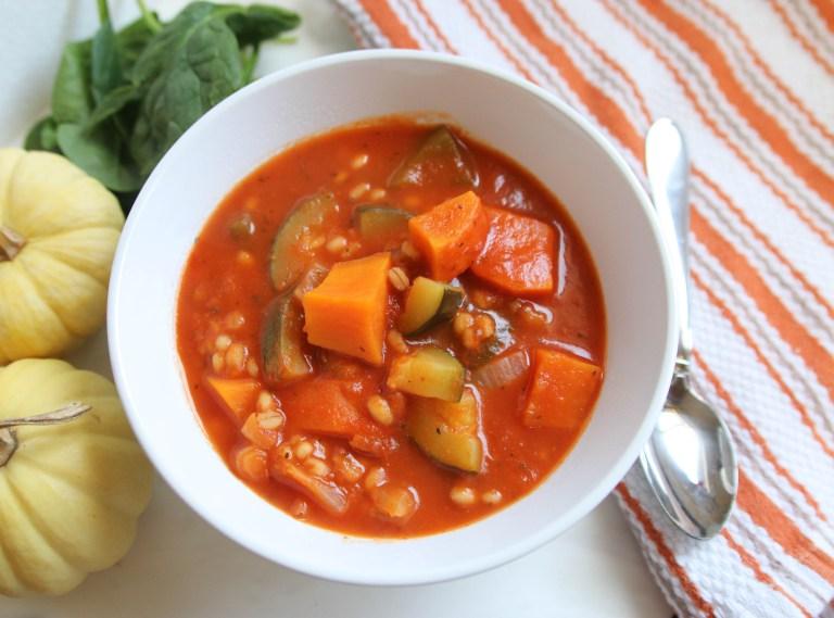 Healthy Vegetable Barley Soup