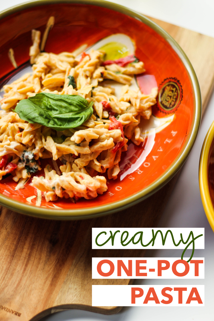 Creamy One-Pot Pasta with Goat Cheese