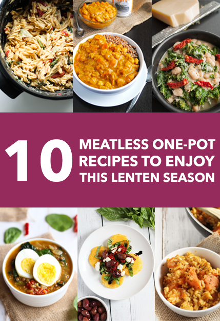 10 Meatless One-Pot Recipes