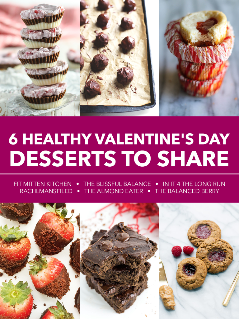 6 Healthy Valentine's Day Desserts to Share