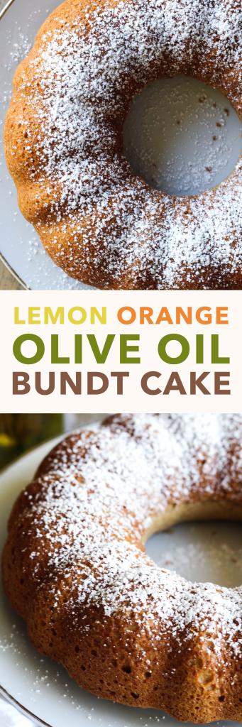 Citrus Olive Oil Bundt Cake