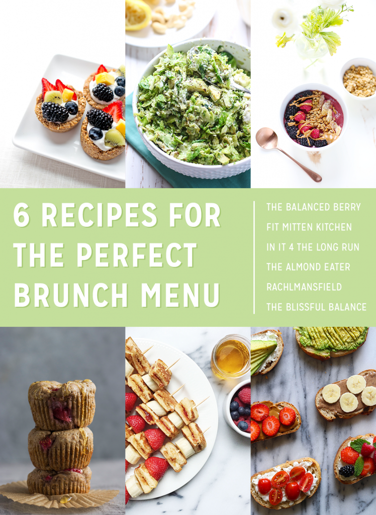 6 Recipes for the Perfect Brunch