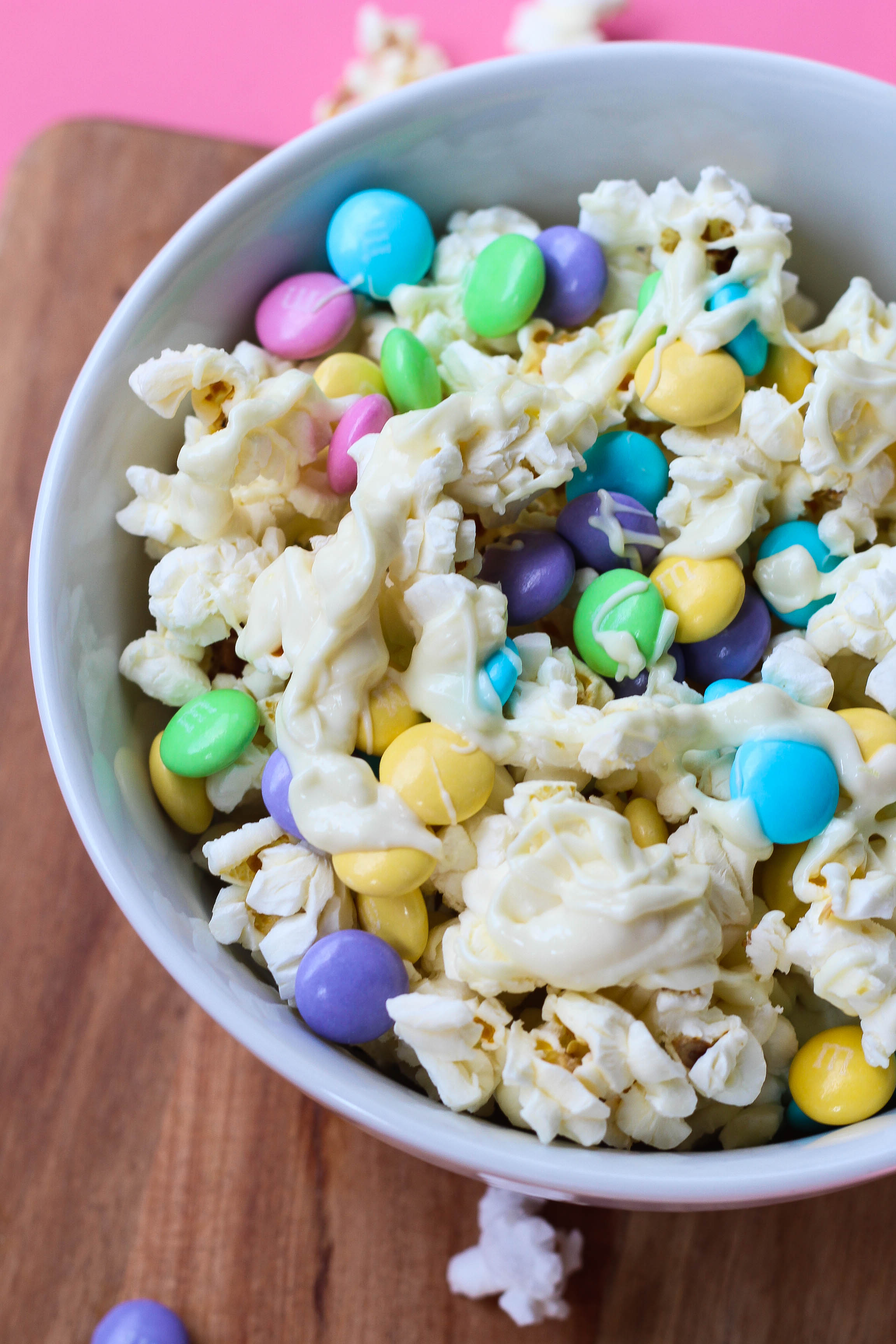 Lemon White Chocolate Drizzled Kettle Corn