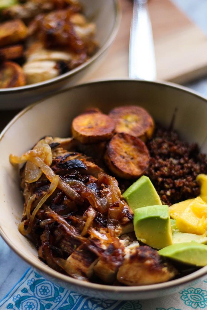Mojo-Marinated Chicken Quinoa Bowl