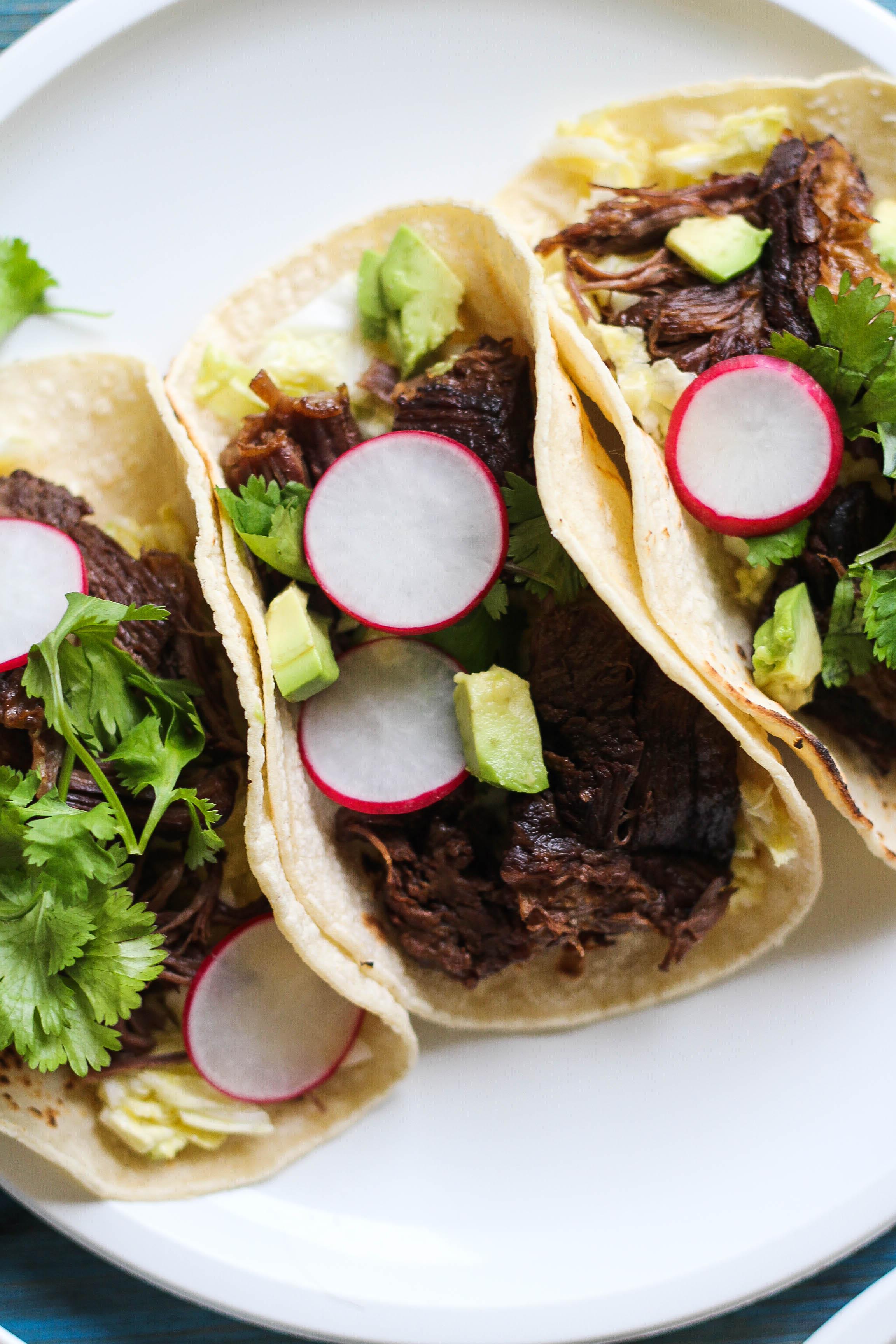 Braised Beef Short Rib Tacos
