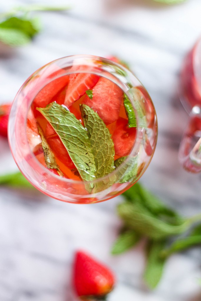 Strawberry Watermelon Sangria