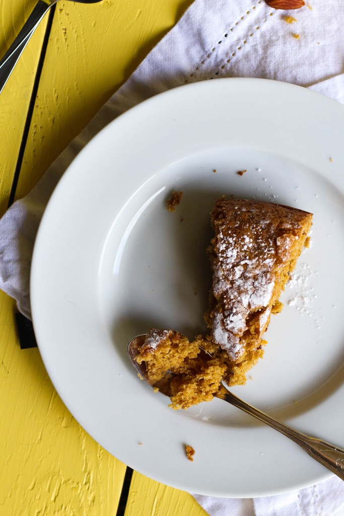 Vegan Orange Almond Olive Oil Cake