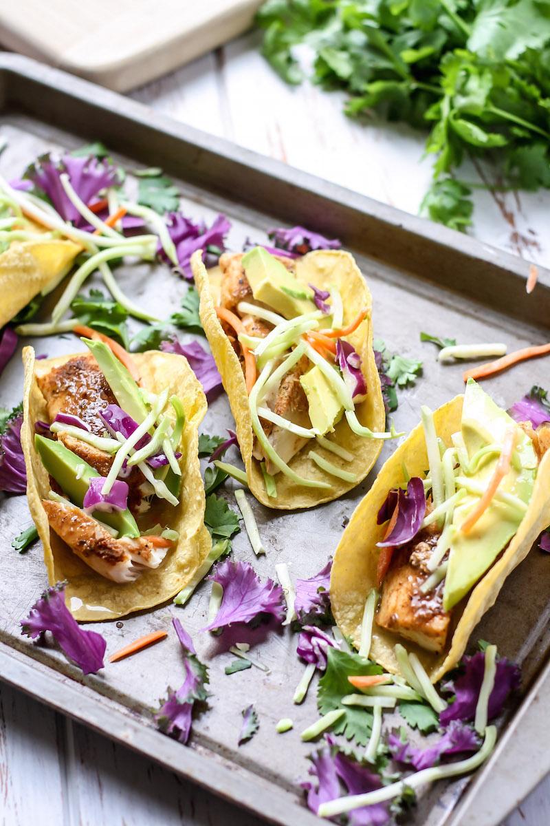 Easy Mahi Mahi Tacos