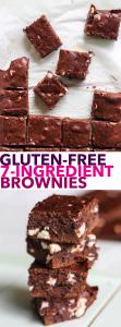 Gluten-Free 7-Ingredient Brownies