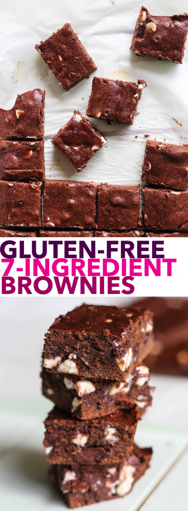 Gluten-Free 7-Ingredient Brownies