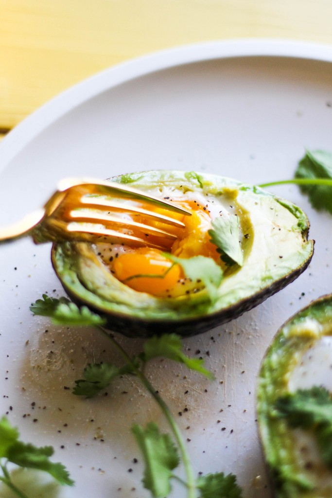 How to Bake an Egg in an Avocado