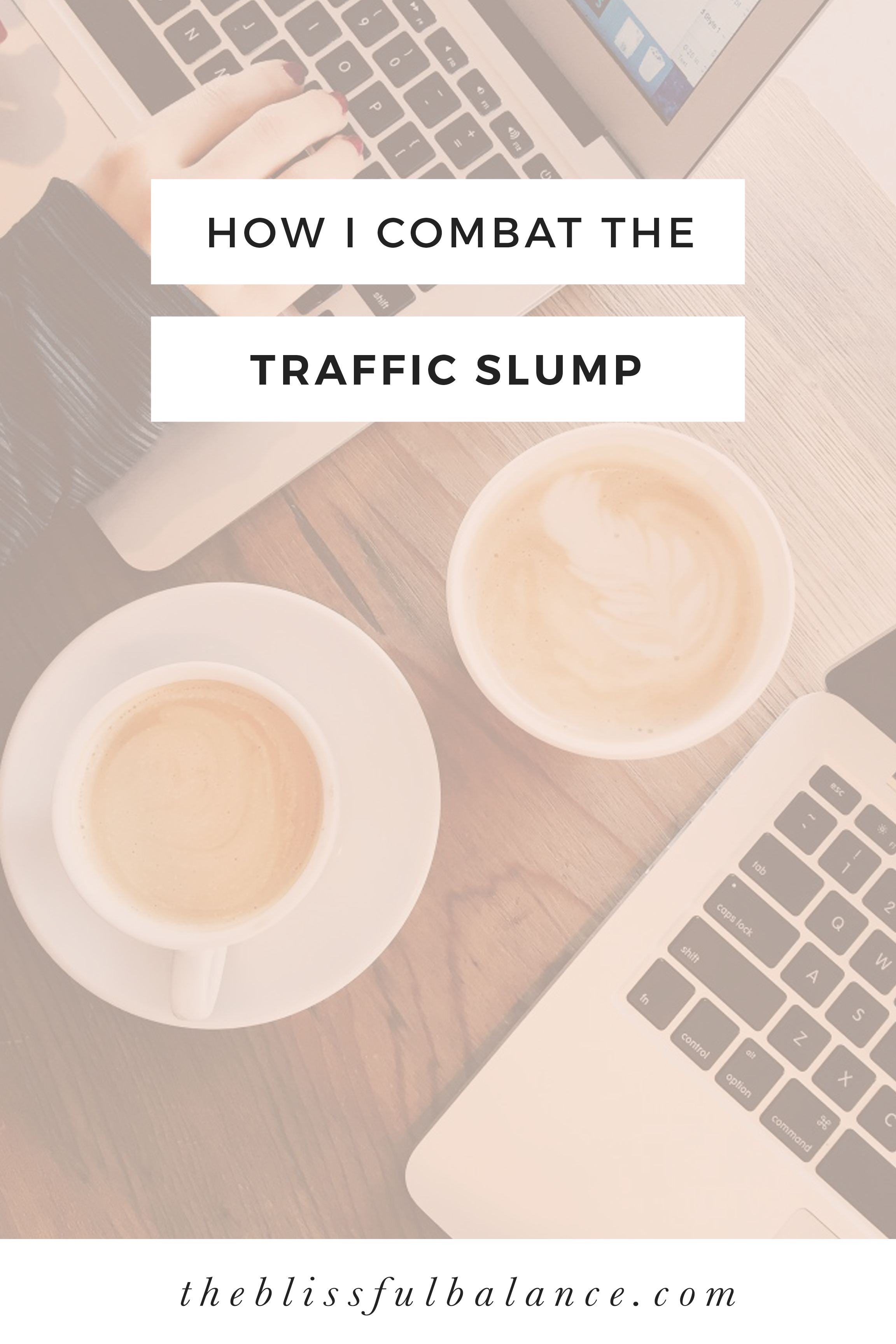 Dealing with low traffic as a blogger is frustrating. Here is how I get through the traffic slump, and grow despite it.