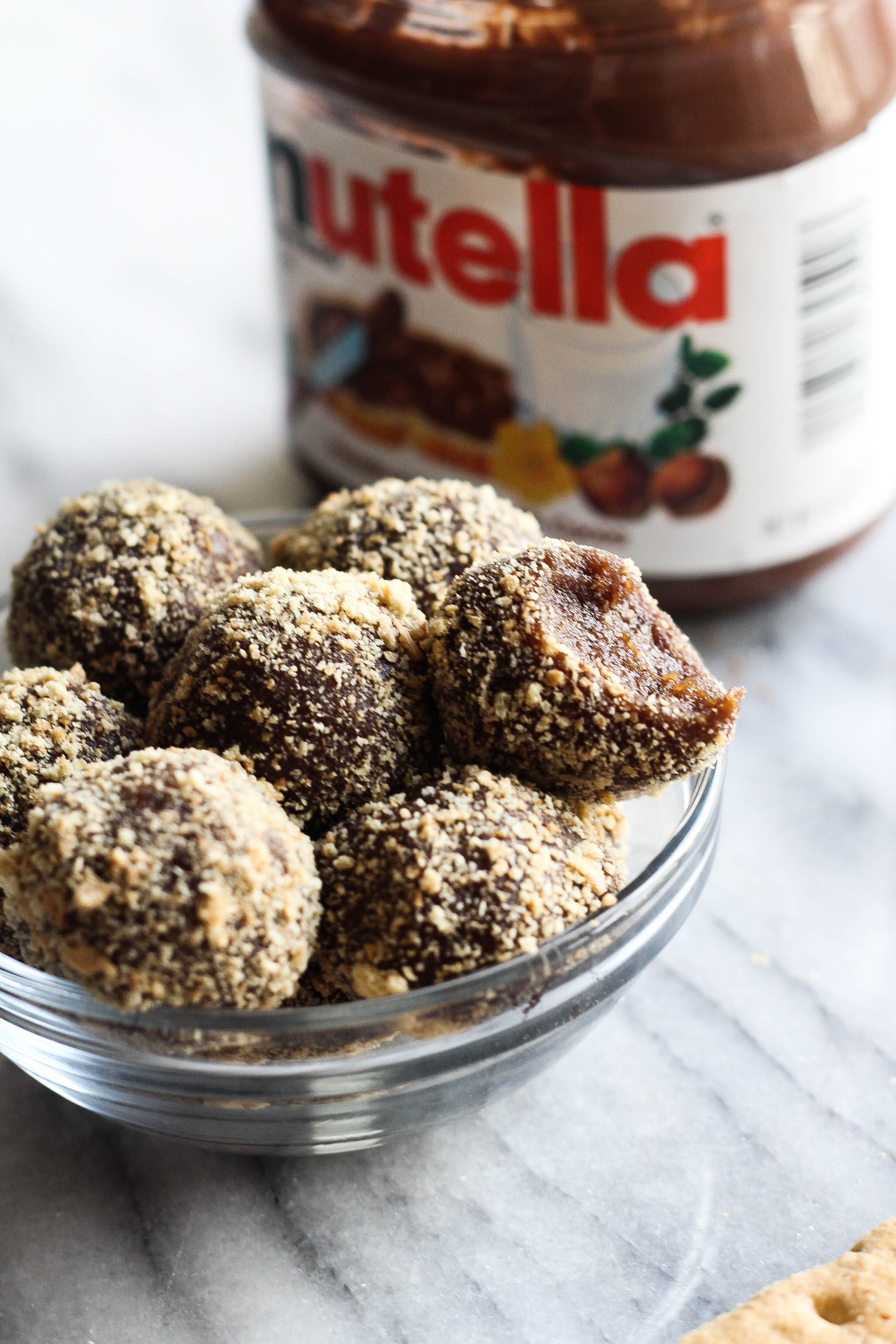 Nutella Energy Bites