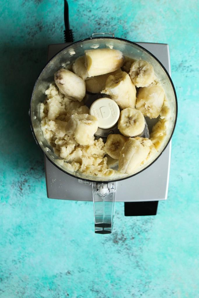 Banana Pistachio Soft Serve