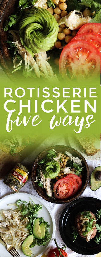 Five Ways to Prepare Rotisserie Chicken
