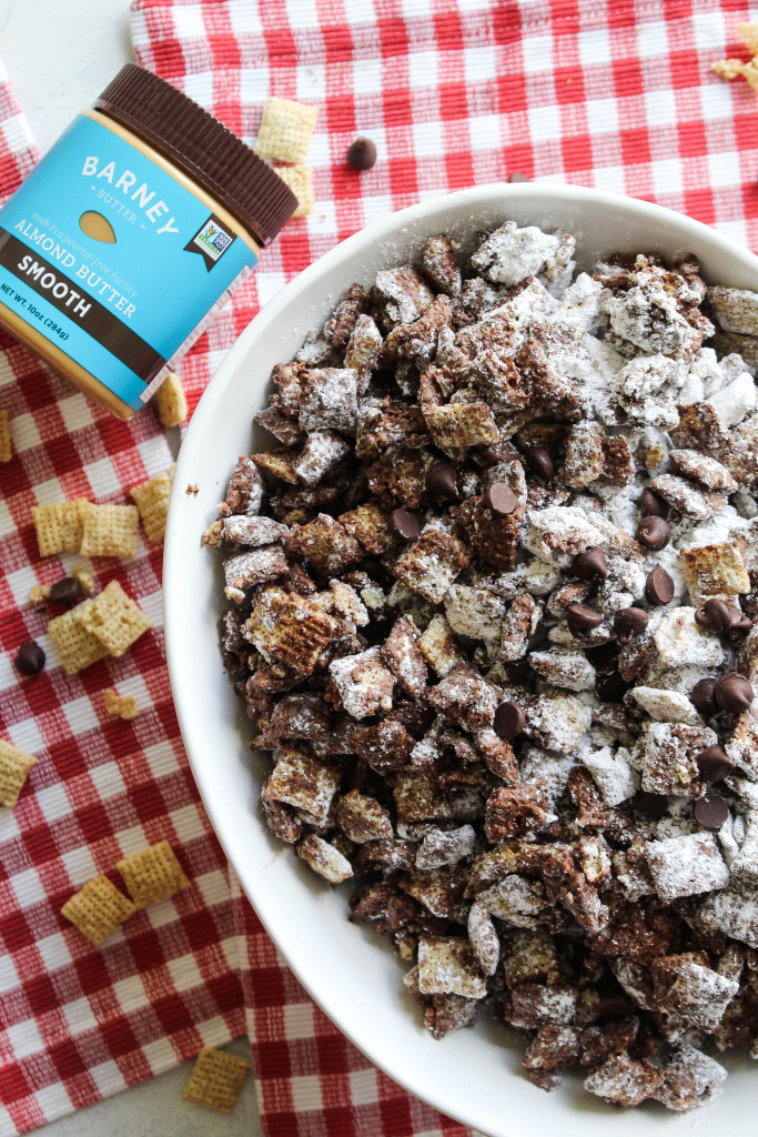 Almond Butter Puppy Chow