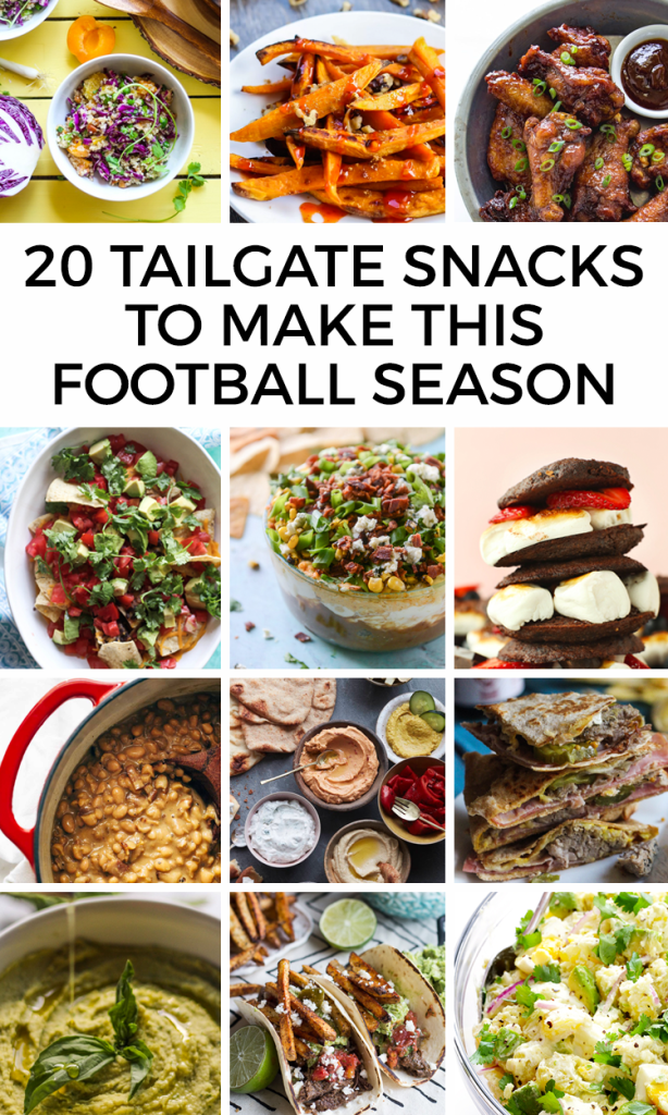 20 Tailgate Snacks to Make This Football Season