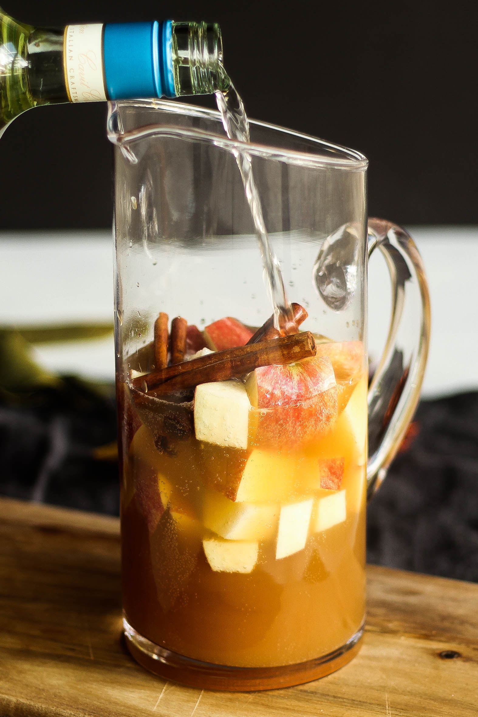 Apple Pie Sangria