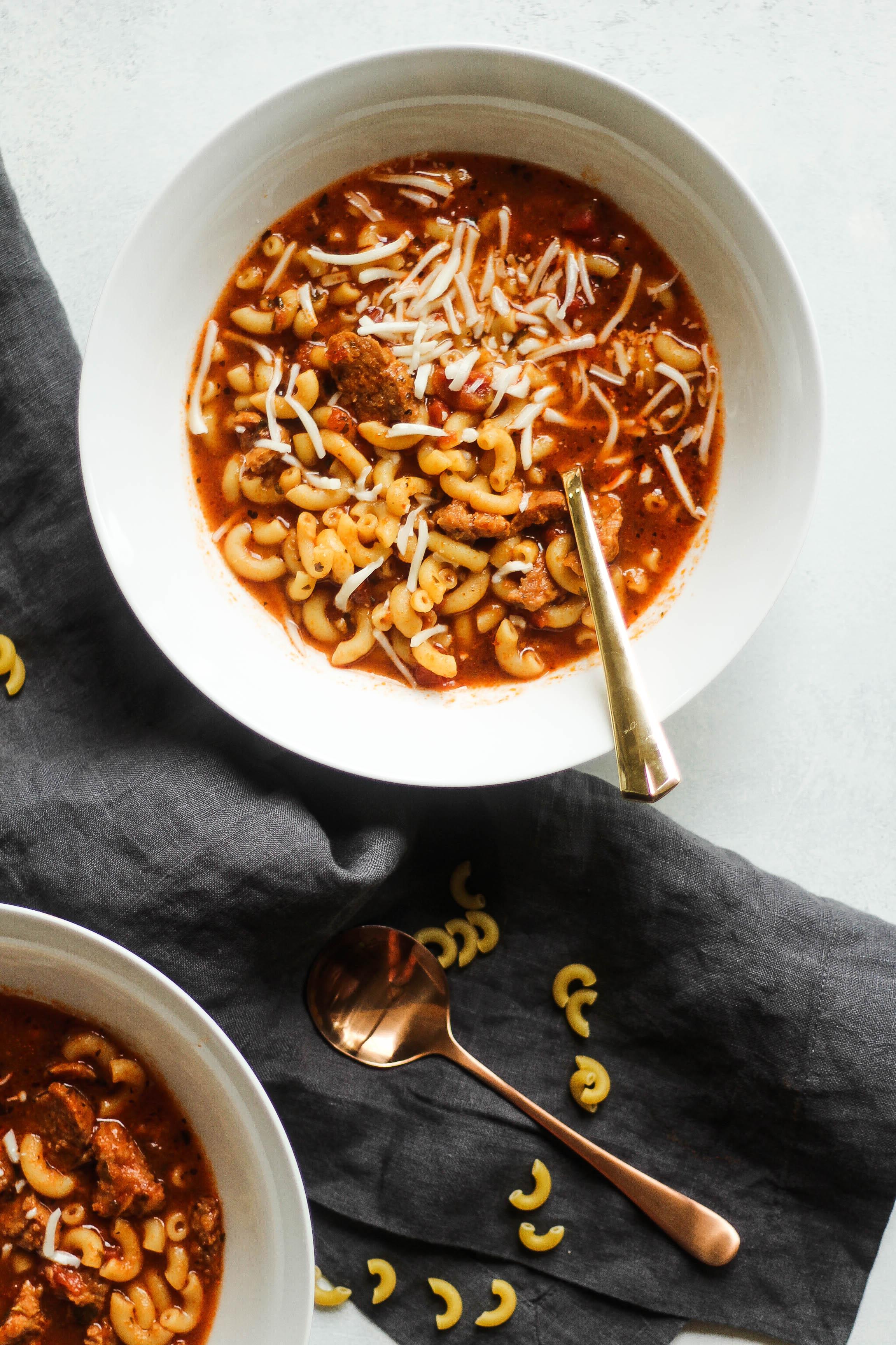 Crockpot Lasagna Stew