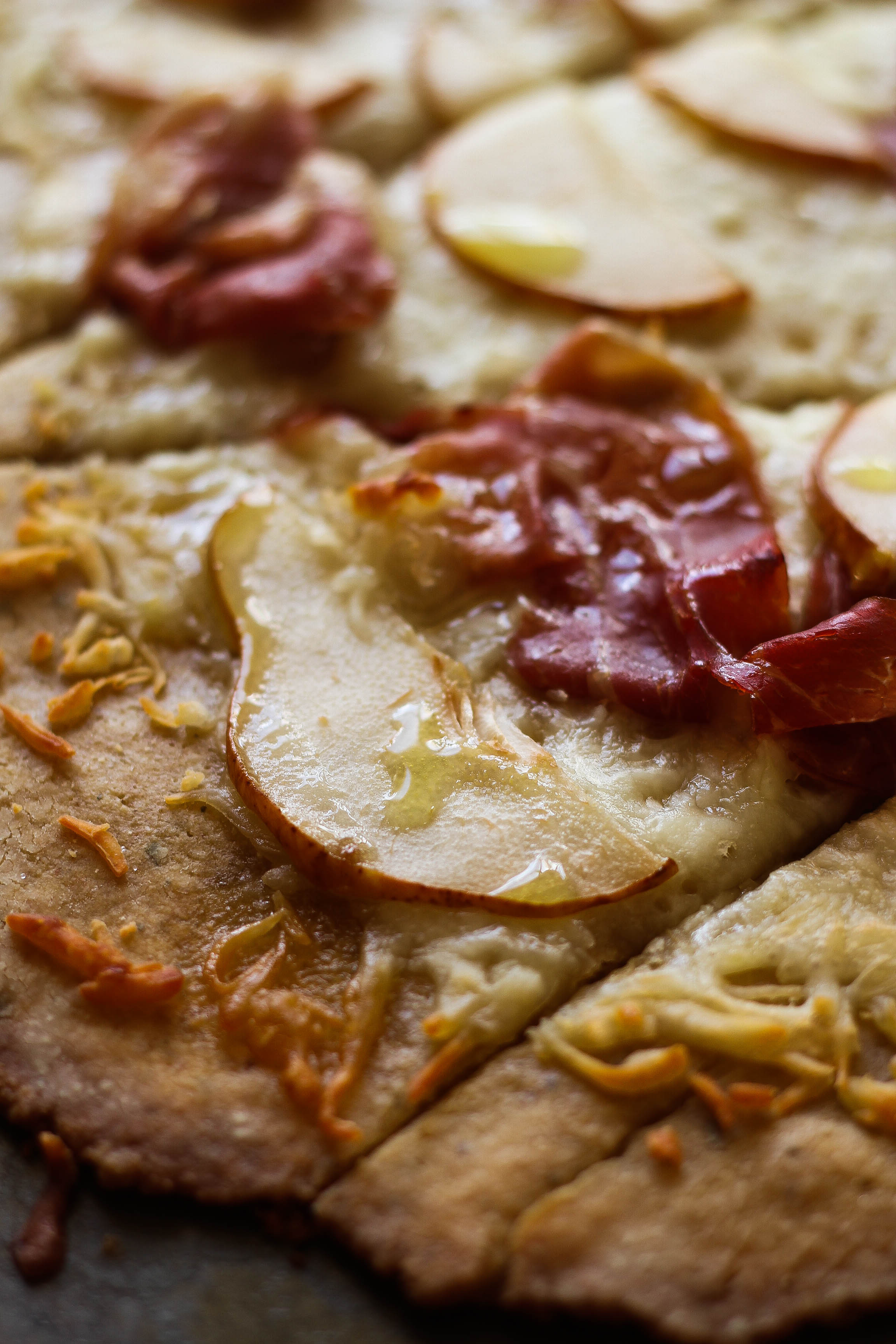 Pear and Prosciutto Flatbread