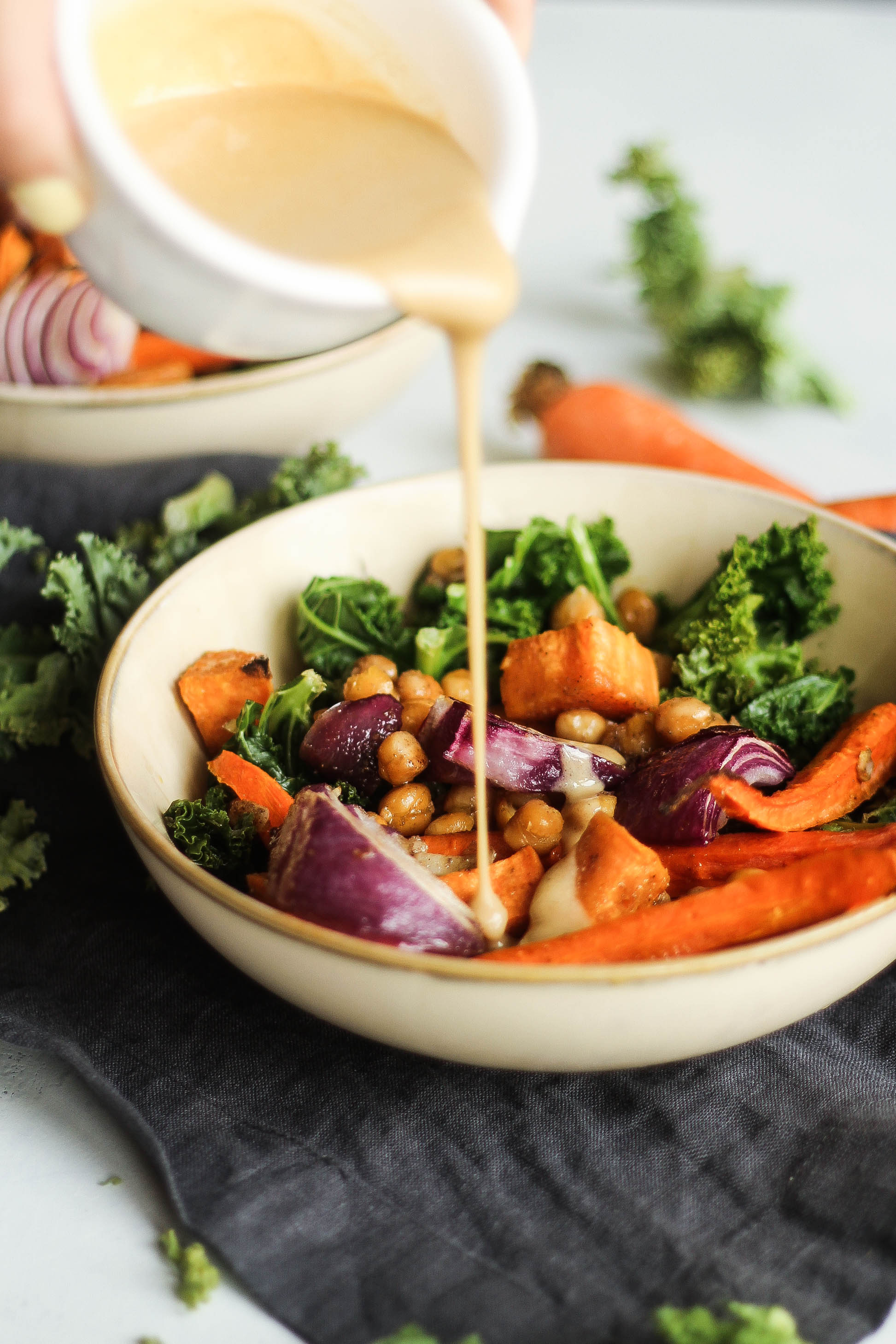 Roasted Veggie Buddha Bowl