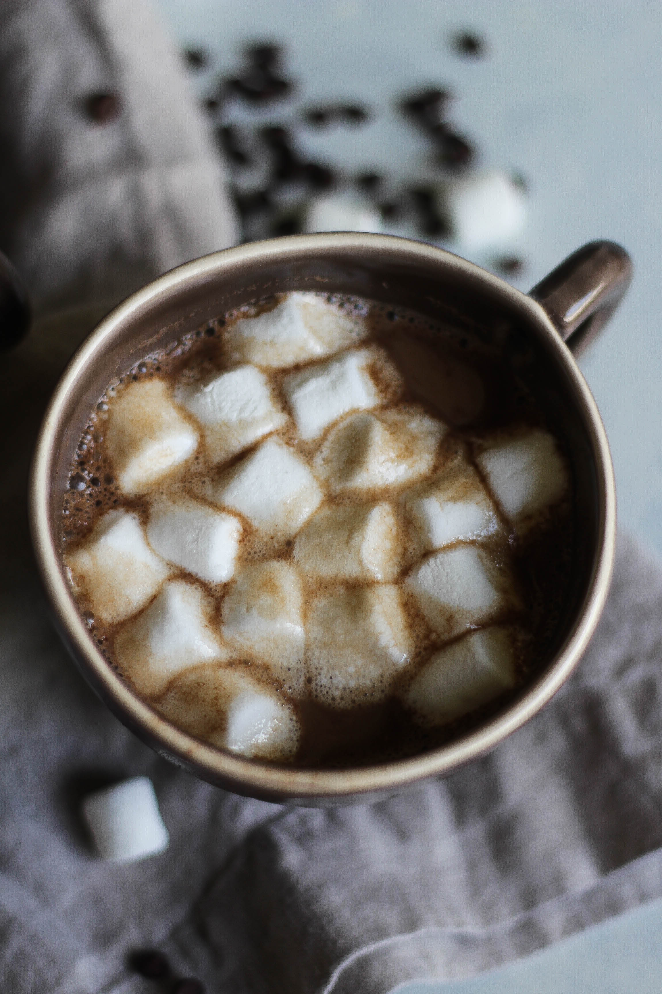 Almond Milk Hot Chocolate | the blissful balance