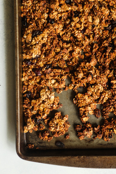Fall Spiced Granola