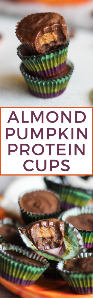 Almond Pumpkin Protein Cups