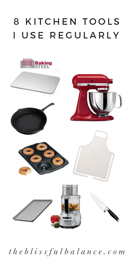 8 Kitchen Tools I Use Regularly